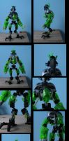 bionicle: the techa-knights by CASETHEFACE