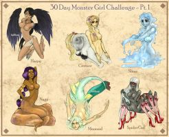 30 Day Monster Girl Challenge - Pt. 1 by mlang