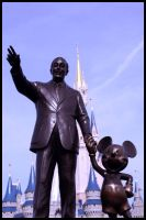 Walt and Mickey by mholhut