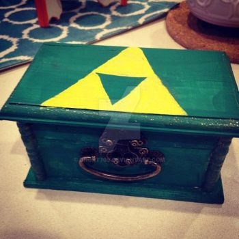 Triforce Tinket Box by dnort709