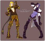 Drakengard 3: Male Five and Three by Neire-X