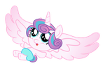 Alicorn Baby Flurry Heart by PonyHD