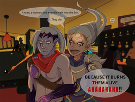 LoL: 2 Champions Walk Into a Bar by vSock
