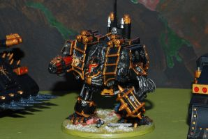 Iron Warriors Dreadnought by 12jack12