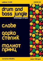Drum and Bass Jungle flyer by ivan-bliznak