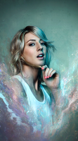 Veronica Maggio Smudge Tag by RadillacVIII