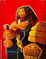 DUCK DREDD by DustinEvans