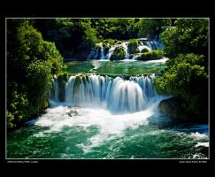 Krka - waterfalls 02 by Wengersky