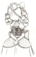 Little Miss Priss by Beam-The-Chao