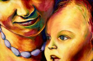mother and child by aeravi