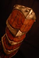 Skyrim Dragonscale Gauntlet Made by Selever2000 by selever2000