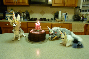 Birthday Party! by Self-Eff4cing