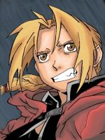 Edward Elric Colored by CBummers