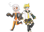 Commission LeNonii: Len y Ensui by rooxx13