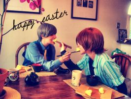 Happy Easter by DestructiveDoll