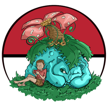 Venusaur fan art by Jenny Gorman by JennyGorman