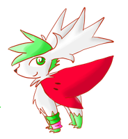 Shemii The Shaymin by AbyssinChaos