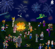 Bonfire Group 2013 by LaptopGeek