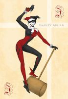 Harley Quinn by Stilletta