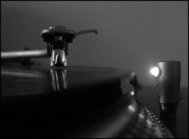 Turntable by crossfading