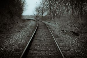 Railroad To Nowhere by ambrotos