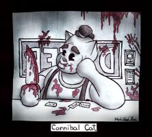 Cannibal Cat by Bareck