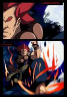 Akuma (Street Fighter) Comic Book Page Sample by Kazemb