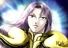 colored the 'Mu' by kazuki3