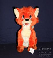 Disney new Todd the fox plush by dapumakat