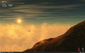 my desktop on 2009.02.20 by The-Golden-Brown