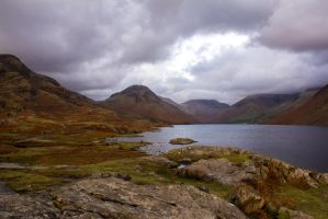 Wast Water 3 by RaeyenIrael-Stock