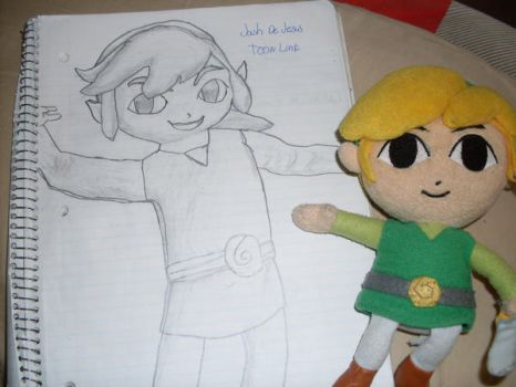 My Toon Link drawing by YoungJash