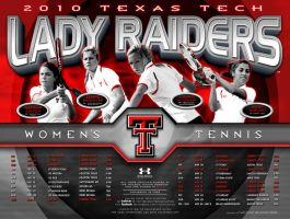 10 ttu womens tennis by Satansgoalie