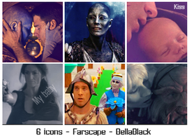 6 icons de farscape 01 by BellaBlackCullen