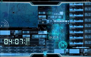 Future HUD desktop. by reformedpunk