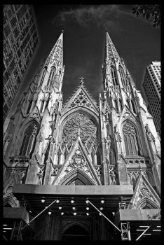 St. Patrick's Cathedral by alexiana