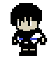 8 Bit John by scarred-journalsJS