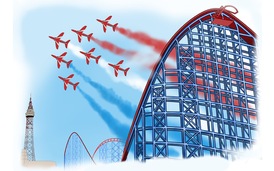 The Red Arrows! by Spikeprime
