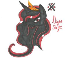 Princess Night Skye by fORCEMATION