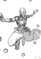 Zenyatta - Overwatch by Ayane45