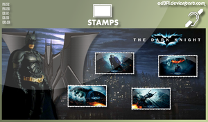 Stamps - 2008 - The Dark Knight by od3f1