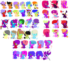 [OPEN] 1 Point Adoptables! by Theedgeofart