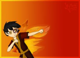 The Gaang: Zuko by Asterismo