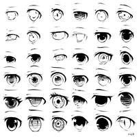 Eyes (2-5) by nicapi