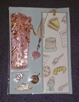Birthday Bookmark theme kit by Dreamerzina