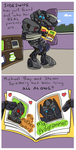 Sideswipe's parental units by RazzieMbessai
