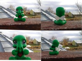 My Little Chibithulhu by ZarineBashire
