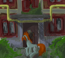 Near the porch by AlexandrVirus