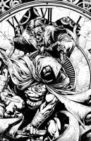 MOON KNIGHT by MIco Suayan by knockmesilly