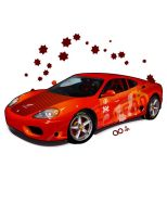 Ferrari 360 Modena: Red by kngzero